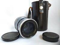 Lens CARL ZEISS JENA DDR M42 MC SONNAR electric 3,5/135