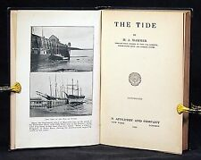 1926 THE TIDE H. A. Marmer Tidal Current Tide Curve Harmonic Analysis Prediction