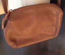 VINTAGE CARLOS FALCHI Brown Leather Cross Body Small Bag