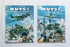 Lot BD - Nuts ! La Bataille des Ardennes 1 2 / WILLY VASSAUX / BHP EDITIONS