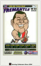 2006 AFL Teamcoach Card Star Wild Card SW6 Peter Bell (Fremantle)