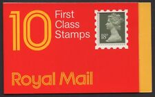 Great Britain 1986 - Booklet - 10 x 18p - Queen Elizabeth II - MNH