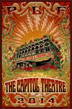 Phil Lesh & Friends '14 Capitol Theatre Gold Foil VIP Mike Dubois Grateful Dead