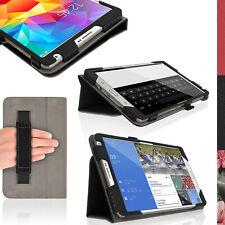"""Nero Eco Pelle Custodia Folio per Samsung Galaxy Tab S 8.4"""" SM-T700 T705 Cover"""