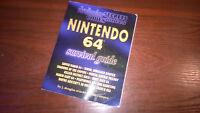 NINTENDO 64 N64 - SURVIVAL GUIDE BOOK MARIO KART TUROK WAVE RACE MORTAL #G30