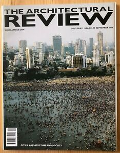 Architectural Review Magazine September 2006 Cities Architecture and Society