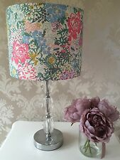 Joules Lampshade Handmade In Chelsea Floral Fabric, Flowers, Girls Bedroom 20cm