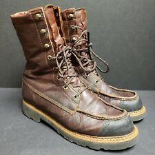 Kangaroo Leather Upland Hunting Boots Men's US 10.5 M Lightweight Waterproof USA