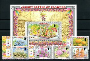 [G381144] Jersey 2002 good sheet w. set of stamps very fine MNH