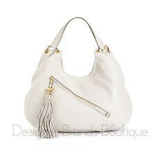 MICHAEL KORS Vanilla Charm Tassel Large Shoulder Tote Bag $368