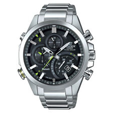 Casio Men's Edifice Solar Connected Quartz Stainless Steel Watch, EQB-501D-1ACF