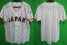 2017 Samurai Japan Jersey Shirt Home WBC World Baseball Classic Mizuno L NEW