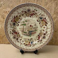 Vintage Ridgway Woodland Dinner / Wall / Dresser Plate - 25.5cm