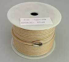 6mm x 100M Double Braid Nylon Anchor Rope, Super Strong, Great for Drum Winches