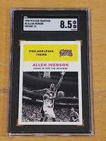 1998 Fleer Tradition Vintage '61 #3 Allen Iverson SGC 8.5 Low POP