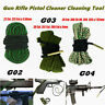 Gun Rifle Pistol Rope Bore Snake Cleaner Cleaning Tool Kit G02-G04