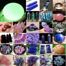 100g Lot Colorful Natural Quartz Crystal Assorted Bulk Tumbled Gem Stone Healing
