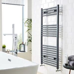 Matt Anthracite Flat Heated Towel Rail  ** Various Sizes **
