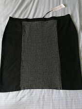 NEW Ladies Simply Be  Bodycon Knee Length Skirt Size 30 Plus Size