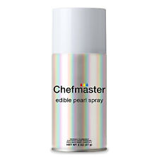 Chefmaster by US Cake Supply 2-Ounce Edible Glitter Pearl Spray