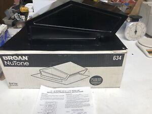 Broan - NuTone 634 Roof Cap - NIB - black