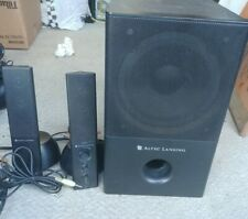 Altec Lansing VS4121 2.1 Powered Computer Speakers with Subwoofer-  SHOP TESTED