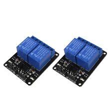 2pcs 5V Single 2 Channel Relay Module Board Shield For Arduino Raspberry Pi