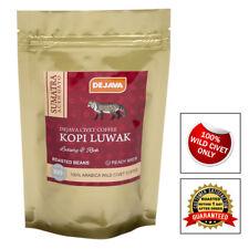 100% SUMATRA ACEH GAYO WILD CIVET CAT COFFEE KOPI LUWAK - ROASTED BEANS - 50g
