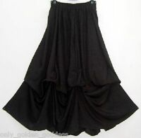 turquoise skirt maxi M L XL OS 1X 2X 3X 4X 5X 6X plus rayon solid lycra