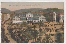 """CPA """" NICE - Le Casino et la Place Masséna"""