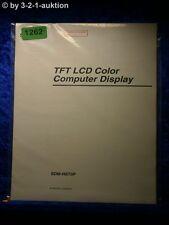 Sony Bedienungsanleitung SMD HS73P Computer Display (#1262)