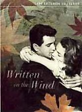 DVD: Written on the Wind - Criterion Collection, Douglas Sirk. Good Cond.: Rock
