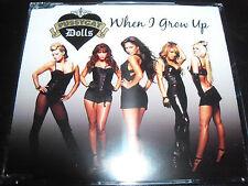 The Pussycat Dolls When I Grow Up Rare Australian CD Single