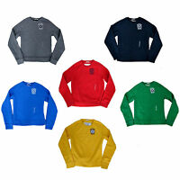 New Abercrombie & Fitch Men's Crew Neck Sweater Pullover Fleece Sweatshirt