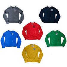 Novo Abercrombie & Fitch Masculina Gola suéter, pulôver, Camisola de lã