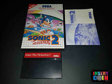 JUEGO SEGA MASTER SYSTEM  SONIC THE HEDGEHOG 2