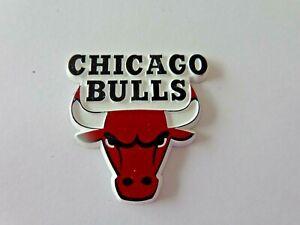 Vintage NBA Chicago Bulls Fridge Magnet Standing Board Old School Logo Free Ship
