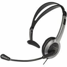 Panasonic KX-TCA430 Comfort-Fit, Foldable Headset Black/Gray