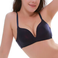 Sexy Women Push Up Padded Bra Seamless Wireless Brassiere Underwear Lingerie A/B