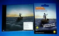 PINK FLOYD, The Endless River, CD Album + pre-order card,hardback digibook style