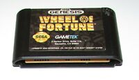 Wheel of Fortune for Sega Genesis Fast Shipping!