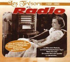 Les Trésors de la Radio 1930 - 1950 Coffret 5 CD NEUF sous cellophane