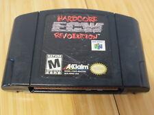 N64 ECW HARDCORE REVOLUTION (Nintendo 64) Cart Tested & Working