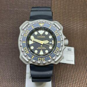 Citizen Eco-Drive BN0220-16E Promaster Super Titanium Duratect Diver Sport Watch