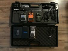 PB600 Guitar Effects Pedal Board with effects