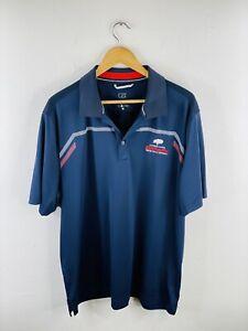 Cypress Lakes Hunter Valley SA Men's Polo Shirt Size XL Blue Country Club Golf