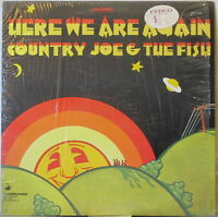COUNTRY JOE & THE FISH Here We Are Again LP – Rock on Vanguard Records (1969)