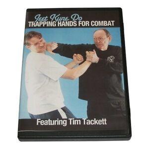 Jeet Kune Do Trapping Hands Combat DVD Tim Tackett Bruce Lee Jun Fan wing chun