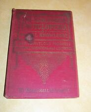 1907 COLUMBIA ENCYCLOPEDIA BOOK 1000 STARTLING WONDER USEFUL KNOWLEDGE PICTURES