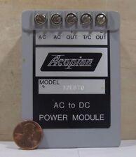 Acopian Model 12Eb70 Ac To Dc Power Module